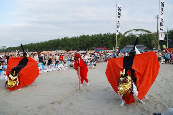 但馬三大祭 川下祭 浜坂ふるさと夏祭り 花火大会