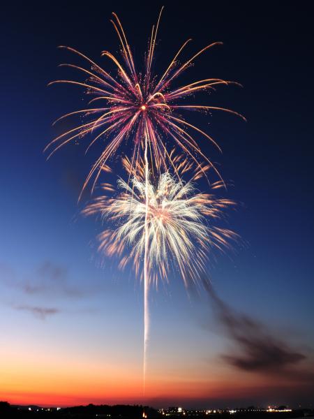 日本三大競技花火大会 伊勢神宮に花火を奉納する唯一の大会