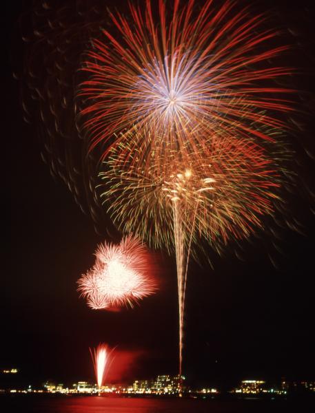 第36回富士山・河口湖山開きまつり花火大会