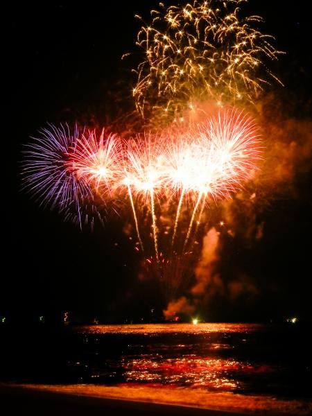 第31回浦富海岸元気フェスティバル 岩美花火祭り