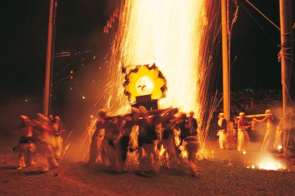 手力の火祭・夏
