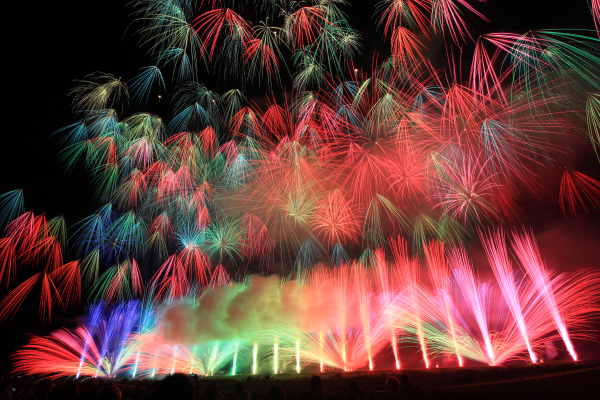 第32回市川三郷町ふるさと夏まつり 神明の花火大会