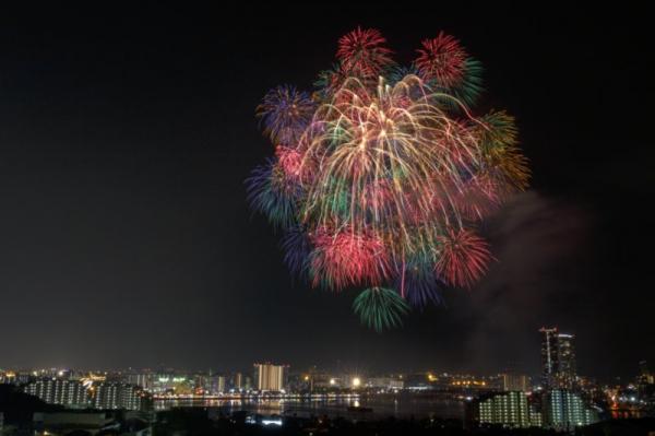 第28回Fukuoka東区花火大会