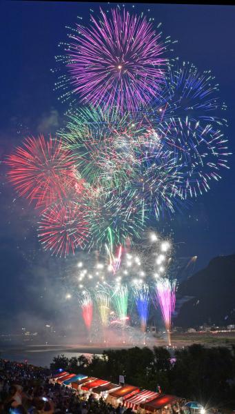 """祝""""令和""""元年記念『第74回全国花火大会』"""