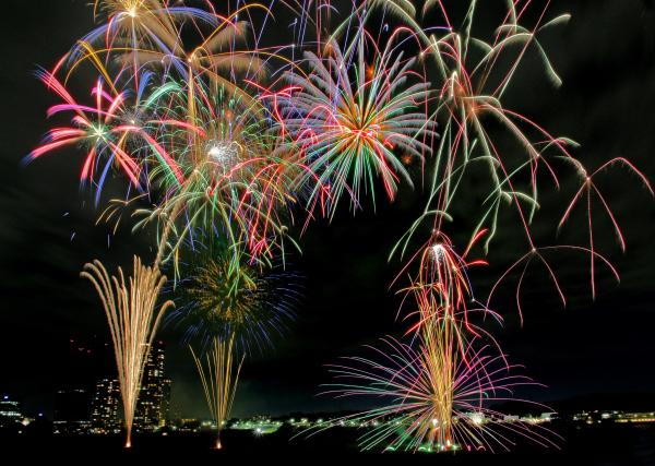 川崎市制記念第77回多摩川花火大会