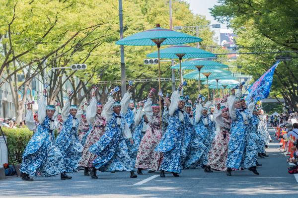 明治神宮奉納 原宿表参道元氣祭スーパーよさこい2019