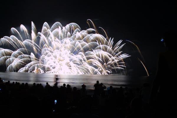 さがら海上花火大会