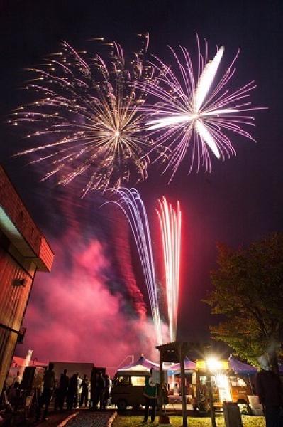 木の城栗山花火