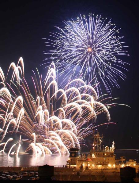 海の日協賛みすみ港祭り