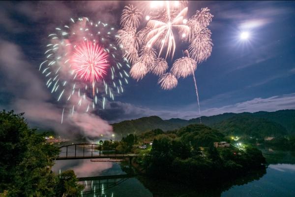第39回亀山湖上祭・君津市民花火大会