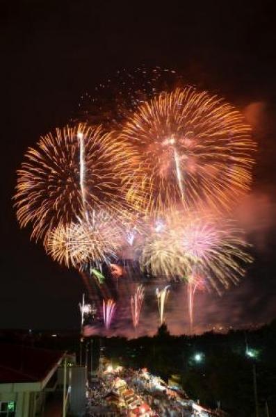 記念すべき70回目の伝統ある花火大会