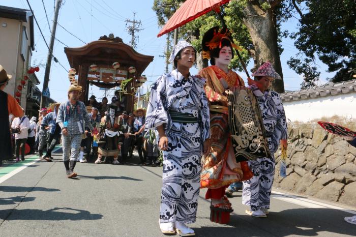歌舞伎行列