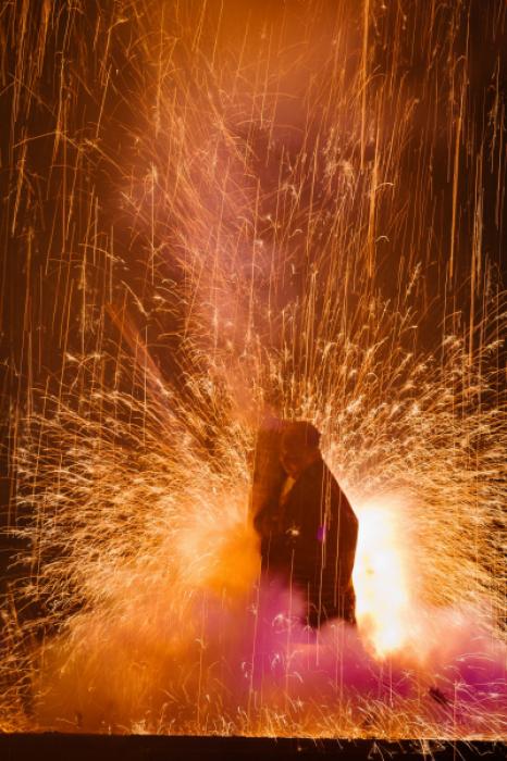 三河地区伝統の手筒煙火