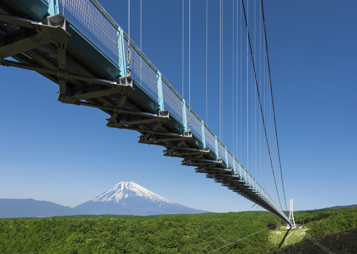 日本一の吊橋