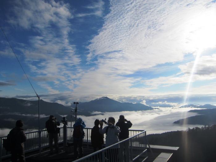黒岳の雲海