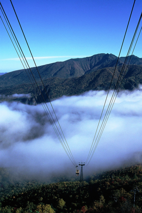 層雲峡黒岳ロープウェイ