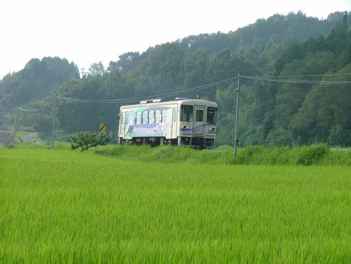 超ローカル列車「明知鉄道」